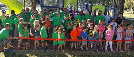 Jefferson Park Playground Now Open