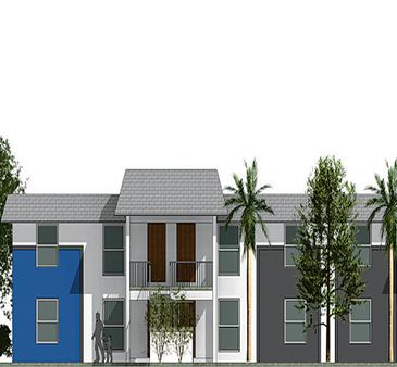 Royal Palm Garden Apartments Rendering