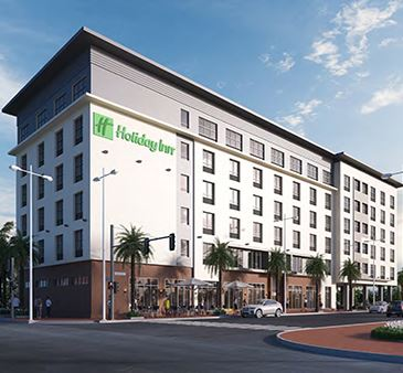 Fort Myers Downtown Holiday Inn Rendering