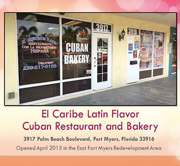East Fort Myers redevelopment area spotlight El Caribe Latin Flavor Cuban Restaurant and Bakery