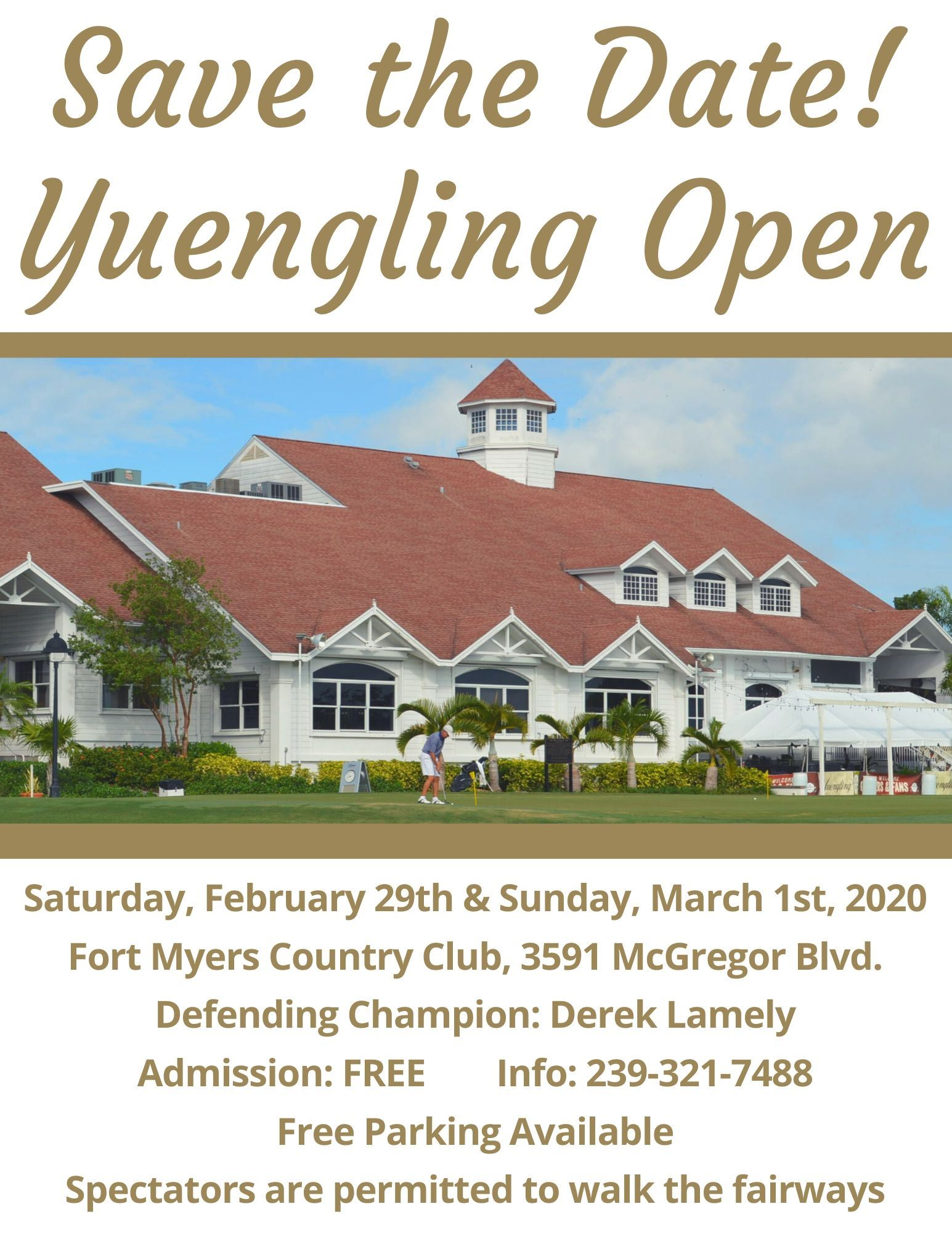 2020 Yuengling Save the date