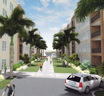 Silver Hills at Fort Myers Apartments Phase Two Courtyard