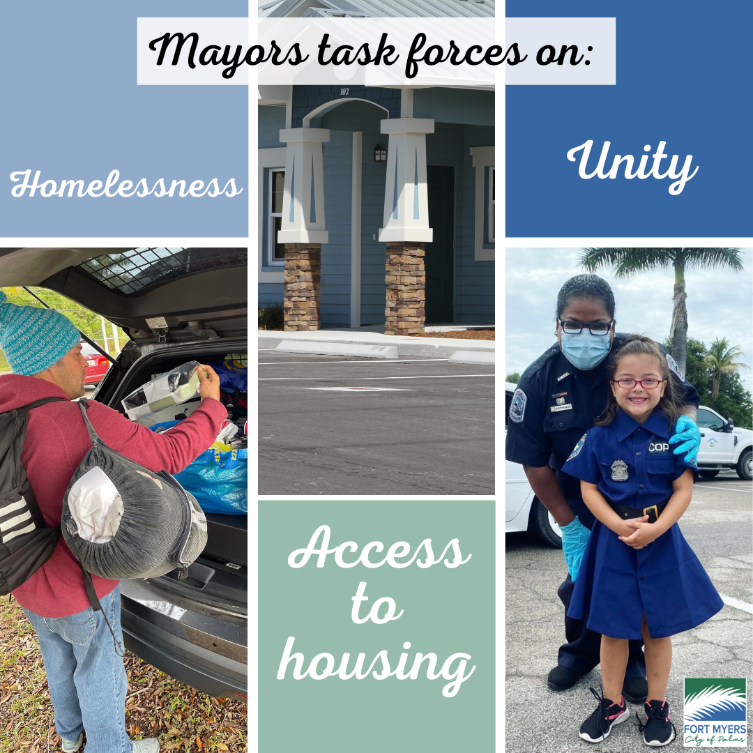 Task forces image housing, unity and homelessness