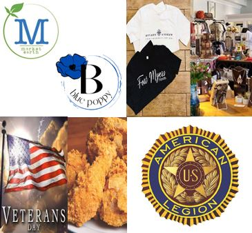 Market Earth Blue Poppy U S American Legion Logos fort myers shirts store veterans day flag chicken