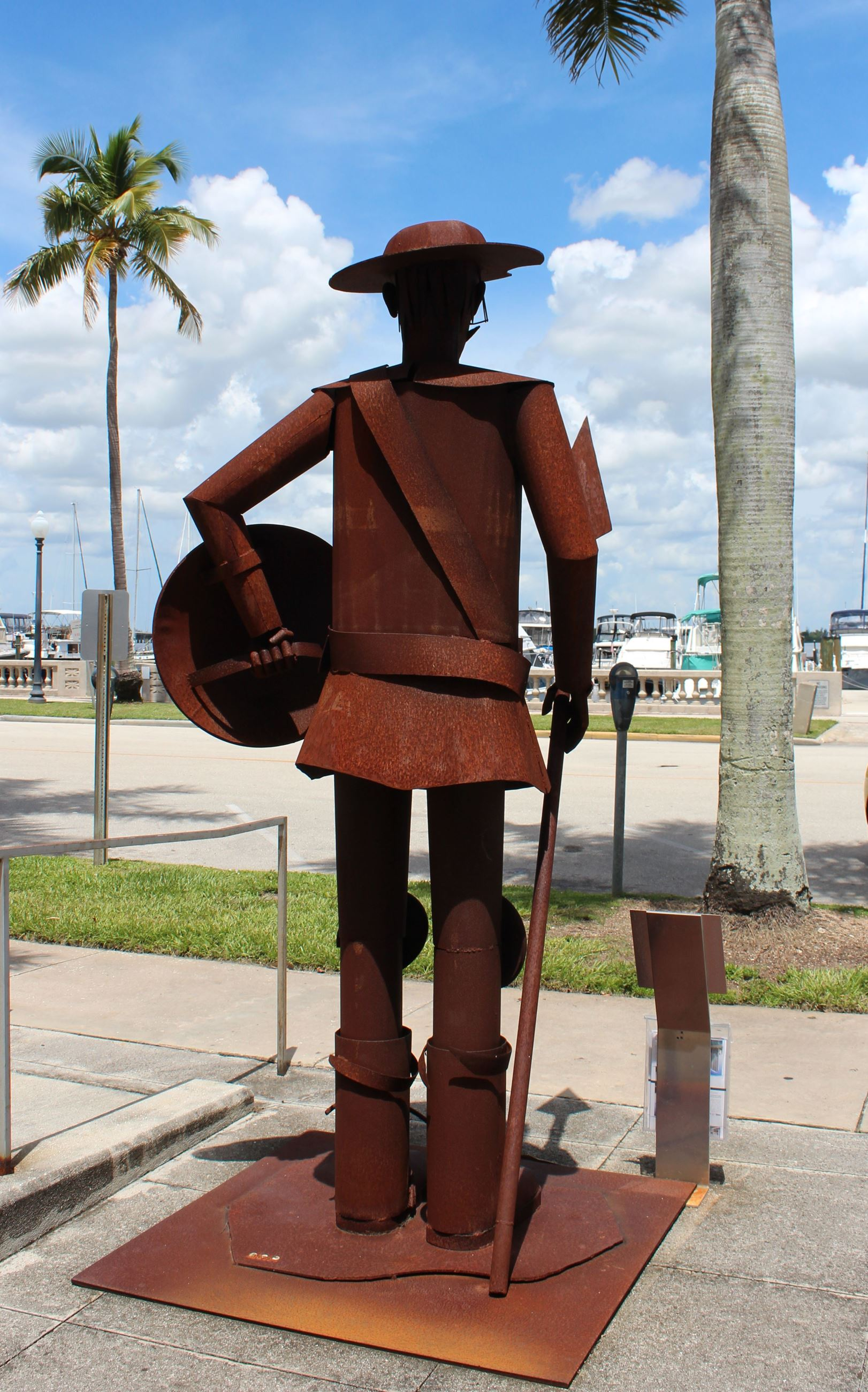 Don Quijote Sculpture