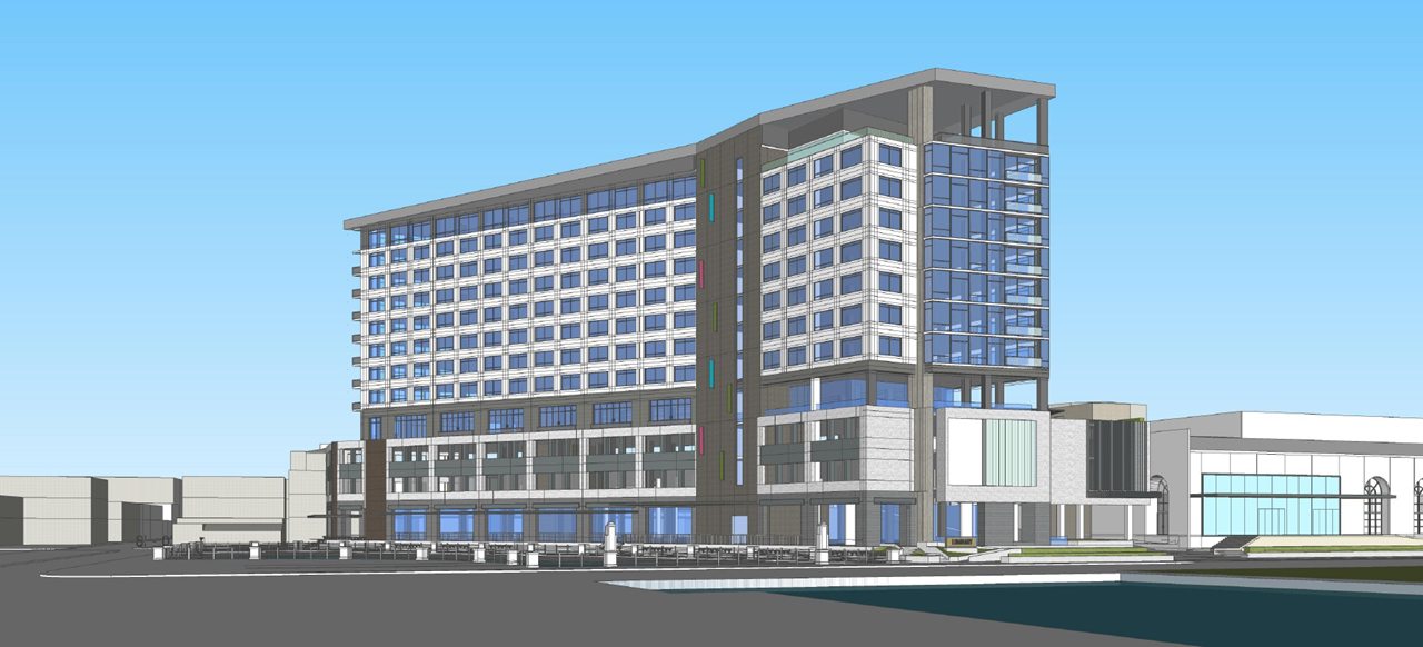 Downtown Hotel Preliminary Rendering