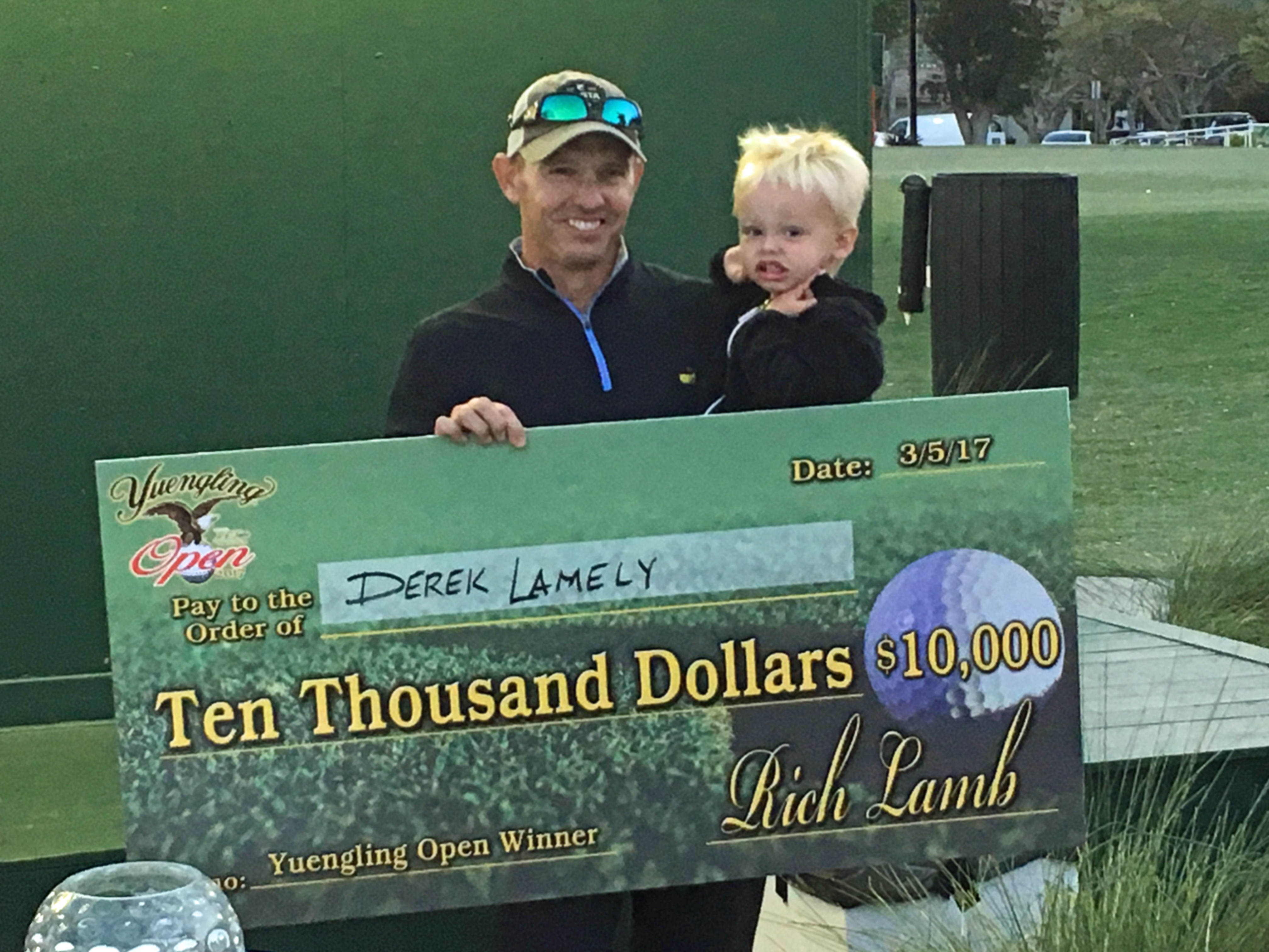 Derek Lamely wins second Yuengling Open