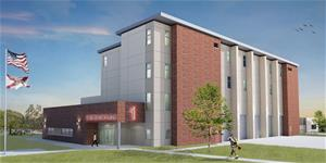New Fire Station Rendering